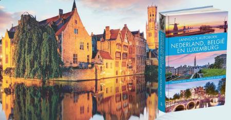 Lannoo's autoboek Nederland, België en Luxemburg