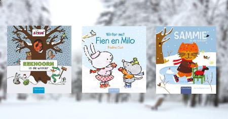 3 winterse peuterboeken van Clavis