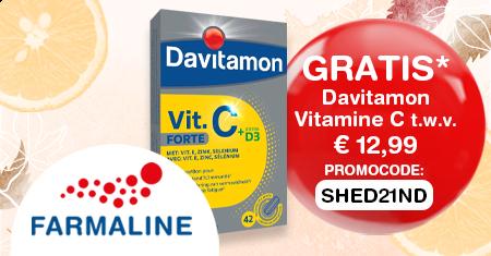 GRATIS Davitamon Vitamine bij je aankoop op Farmaline