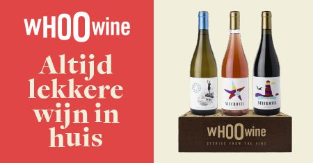 Altijd lekkere wijn in huis met de WHOOwine Box!
