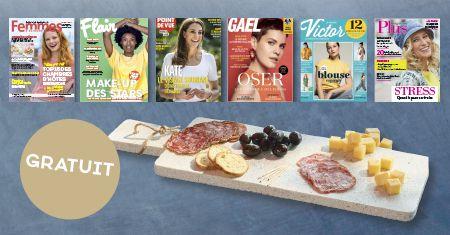 Offrez un magazine en cadeau pour la fête des mères