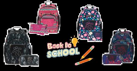 Retour à l'école : cartable + trousse à crayons TOTTO