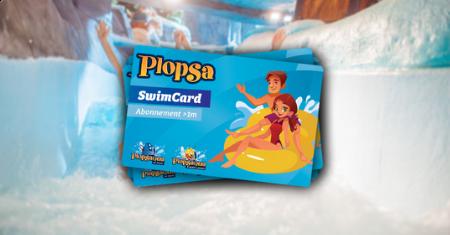 Plopsa-SwimCard met € 15 korting