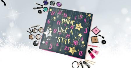 Calendrier de l'Avent pour les fans de make-up