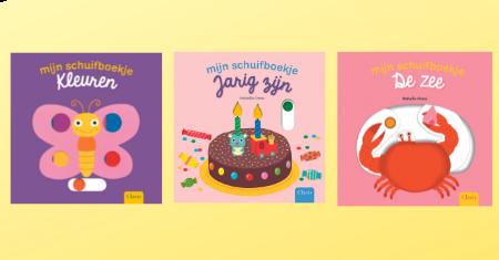 3 leuke en leerrijke schuifboekjes voor kinderen vanaf 1 jaar