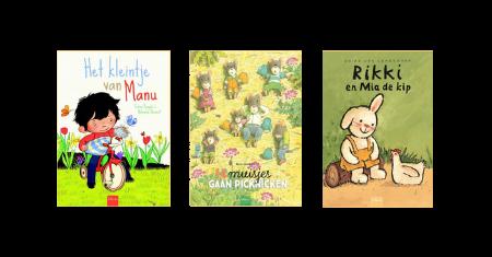 3 Clavis kleuterboeken over de lente