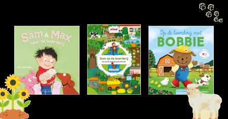 Clavis boerderijpakketje met 3 prentenboeken