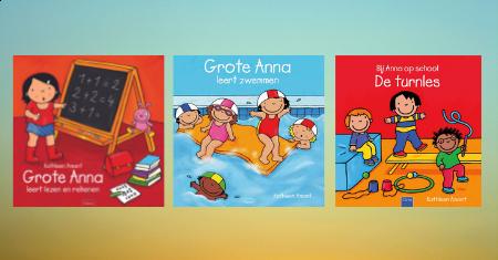 Clavis terug naar school boekenpakketje van Anna