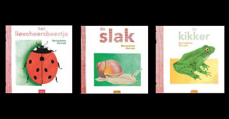 3 Clavis natuurboekjes voor kleuters