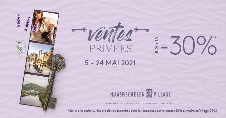 Maasmechelen Village : Jusqu'à -30% pendant la vente privée !