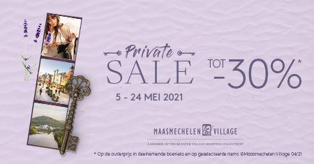 Maasmechelen Village: Tot -30% tijdens  Private Sale