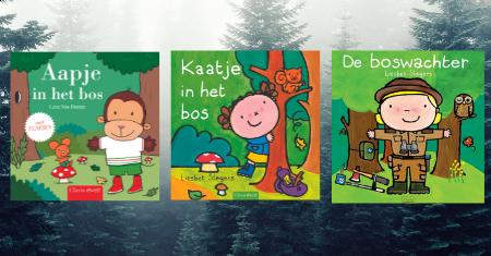 3 Clavis boekjes over het bos
