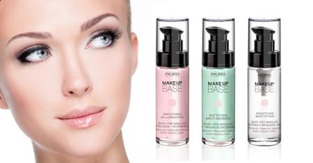 Trio de bases de teint Ingrid Cosmetics