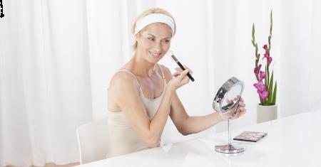 2-in-1 LED cosmetica spiegel  Medisana