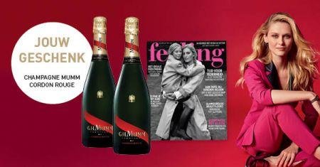 Feeling abonnement + gratis champagne