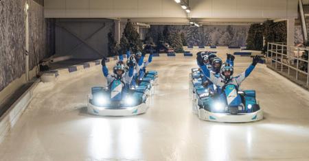 IJskarten bij Icekart Rucphen in Nederland