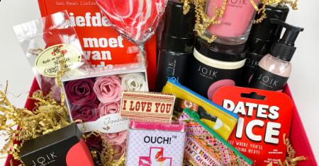 Gepersonaliseerde Valentijnsbox van Kleine Gelukskes