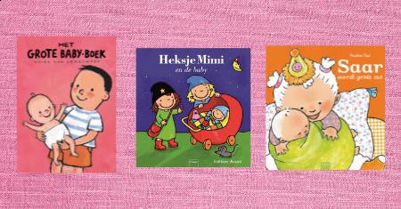 3 Clavis boeken over baby's voor € 29,99