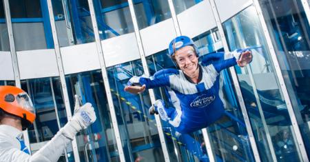 3 skydive sessies bij Skydive Roosendaal